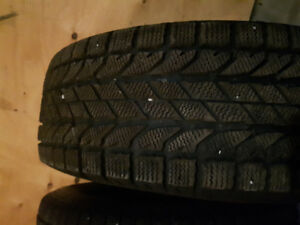 255/70R16 Winter Slaloms - Used Only 1 Season, Great Condition