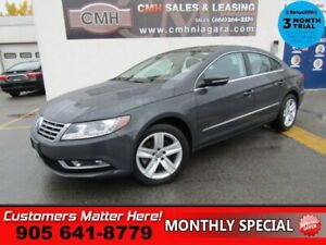2014 Volkswagen CC Sportline  LEATHER ROOF CAMERA HEATED SEATS R