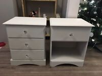 Annie Sloan bedside table drawer units