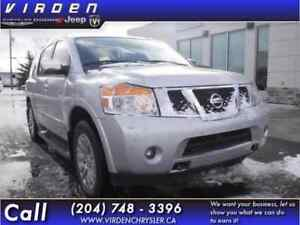 2015 Nissan Armada Platinum **LOW KMS!! LOCALLY OWNED!!**