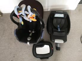 Baby car seat MAXI COSI + ISOFIX easy fix