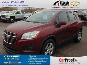 2013 Chevrolet TRAX FWD LS CROSSOVER LS Crossover
