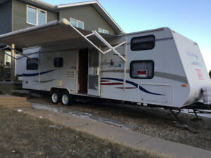 2008 Jayco Jay Feather 27 Bunkhouse - double slide out trailer