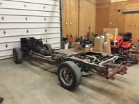 Chevy s10 frame with small block Chevy engine