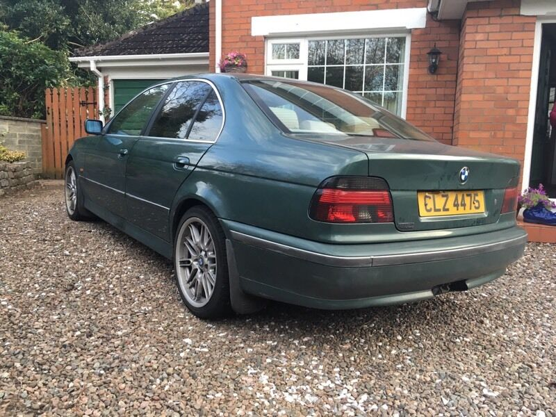 bmw e39 525 tds manual in holywood county down gumtree. Black Bedroom Furniture Sets. Home Design Ideas