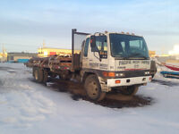 2001 HINO FF 24' FLAT DECK FOR SALE LOW KM'S