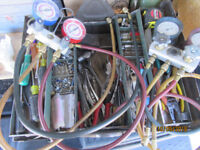 "HOME AIR CONDITIONING REPAIR / ""Tools For Sale"""