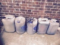 Used waste engine oil . Fence / shed painting or for oil burner/ heater. FREE.