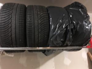4 Winter tires Michelin 245/40R18