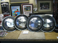 Four GM 14 inch discs off 1971 Olds Cutlass,4- Ralley 442  rims