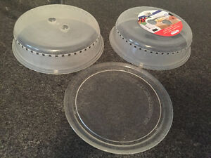 Microwave tray and covers