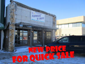 Commercial building and greenhouse Spiritwood Sk