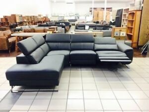 SAMUEL CORNER LOUNGE W/ELECTRIC RECLINER Chermside Brisbane North East Preview