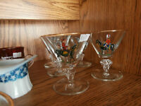 Set of Horse Rider Glasses at KeepSakes Antiques