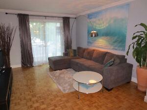 4 1/2 entièrement meublé situé à Anjou