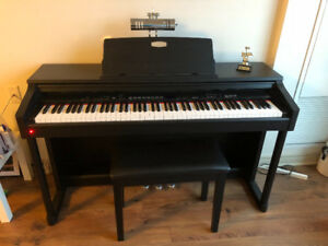 Viscount Electronic Piano with Bench