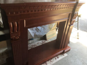 Monarch fireplace mantle
