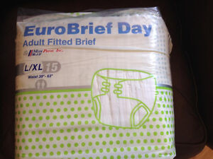 Adult Diapers Package of 15 (1 Package)- MAKE an OFFER