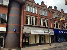 Retail Property Hanley (high street) to let