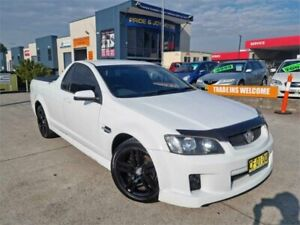 2008 Holden Commodore VE SV6 White 6 Speed Manual Utility