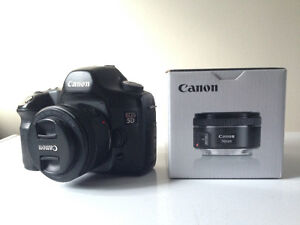 Canon 5D with 50mm f1.8 stm