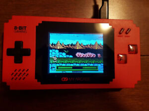 MY ARCADE Pixel Player Portable Handheld 300 Built-in Video Game