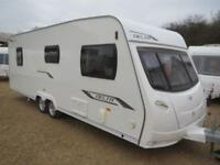 Lunar Delta TI 2010 4 Berth Fixed Island Bed Twin Axle Touring Caravan