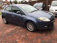 Fiat Bravo 1.4 DYNAMIC, Blue, Rear Parking Sensors,12 Months MOT,HPI Clear, Cruise & Climate Control
