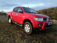 2011 Mitsubishi L200 Trojan, Great Pickup, 120k Motorway Miles, Leather Seats, V /Clean 4x4, Bargain