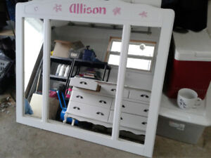 Full dresser with mirror