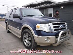 2007 FORD EXPEDITION MAX EDDIE BAUER 4D UTILITY 4WD