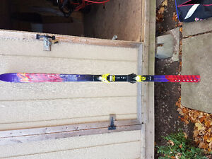 K2 skis and Solomon bindings