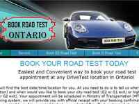 Quick! Fast! Road Test Booking DriveTest Ontario