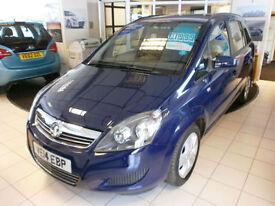 Vauxhall/Opel Zafira 1.8i 16v VVT ( 120ps ) 2014MY Exclusive 1 LADY OWNER ON 15K