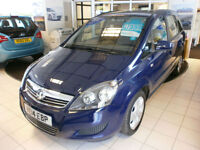 Vauxhall/Opel Zafira 1.8i 16v VVT ( 120ps ) 2014MY Exclusive 1 LADY OWNER ON 15K