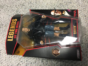 WWF WWE ECW Raven Legends of the Ring Super rare unopened