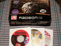 ATI Radeon 7500 AGP 64Mb Video Card with TV Out