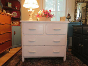 Incredible Pearl White Shabby Chic Dresser