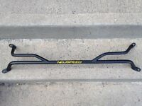 Honda Prelude 92-96 Neuspeed tower bar, front/avant