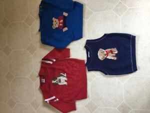 3 BOYS SWEATERS .....$5.00 each