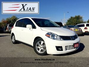 2012 Nissan Versa SL Hatchback *3 Years Warranty included*