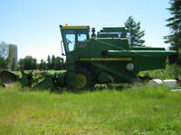 batteuse john deere 6600