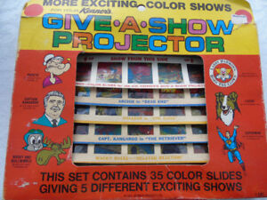 KENNER PRODUCTS CO.1970-35 SLIDES IN ORIGINAL BOX