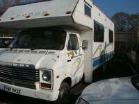 1982 Dodge 50 Motor Caravan in need of restoration