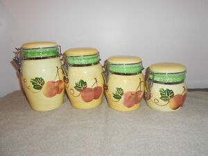 Canister Set (4 pieces)