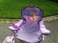 Kids camping chair - Disney Little Princesses