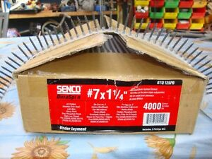 SENCO DURASPIN SCREWS