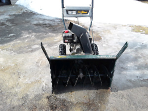 "Yard Works  ---  29""  SNOWBLOWER  ----  10.5 H.P."