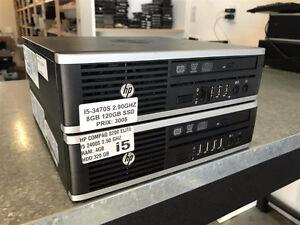 MINI HP 8300 ULTRA SLIM I5-3470S 2.90GHZ 8GB 120GB SSD