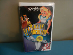 Walt Disney Alice in Wonderland VHS Masterpiece Sealed New
